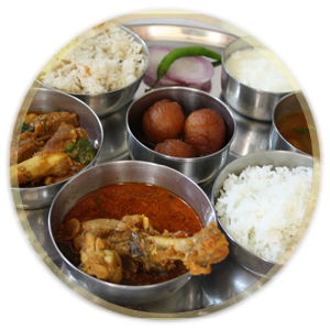 Non-Vegetable Thali