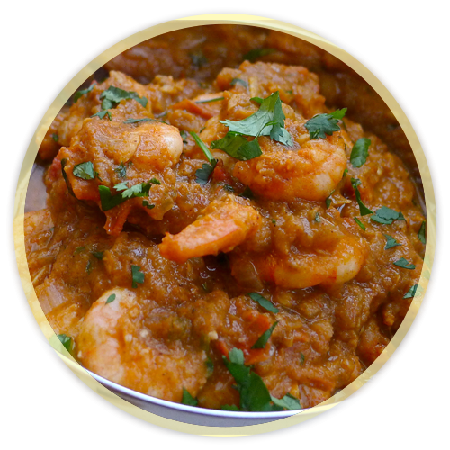 Fish/Shrimp/Egg Curries